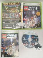 LEGO Star Wars II Original Trilogy Xbox 360 TESTED CIB COMPLETE FAST SAFE SHIP