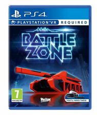 Battlezone Playstation VR PSVR Game Brand New & Factory Sealed - UK SELLER PS4