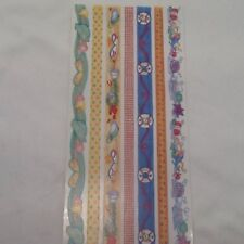 """Summer Beach 12"""" Borders SCRAPBOOKING Stickers by Tie Me To The Moon A72"""