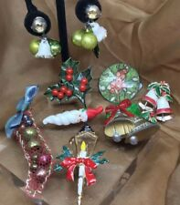 Vintage Christmas Jewelry Lot, Wear/Parts Ugly Christmas Sweater Pin Brooch #3