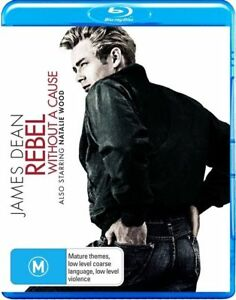 RARE AUSTRALIAN REGION B RELEASE JAMES DEAN - Rebel Without A Cause BLU-RAY