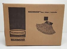 New Rubbermaid Commercial Maximizer Blend Medium MopHead Case of 6   1924785