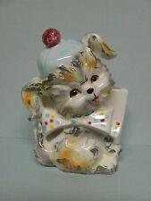 HTF Vintage Lefton Puppy Pal Wall Pocket/Planter (ESD/Japan/#21173)
