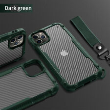 Luxury Carbon Fiber Case For iPhone 12 Pro Max Mini 11 Shockproof Bumper Cover
