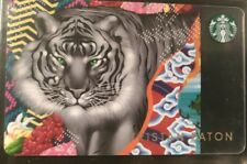 Tristan Eaton Starbucks Sumatra Tiger Card, 2017 Series 6153          (LL)