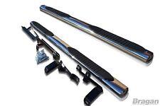 pour 2015 + HYUNDAI TUCSON acier inoxydable Barres latérales marches tubes