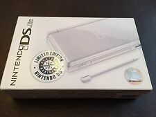 New Nintendo DS Lite Game Console Polar White Limited Edition Seattle Mariners