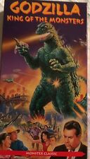 """Vhs Video Science Fiction Movie """"Godzilla: King Of The Monsters� Japan Japanese"""