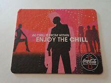 Beer Pop Coaster: COCA-COLA ~ Enjoy the Chill ~ 2002 Music Events Across BELGIUM