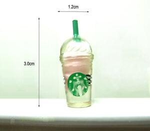 Dollhouse Miniature Juice Mocha Coffee Cup Mug Bottle Food Drink Beverage 1/6
