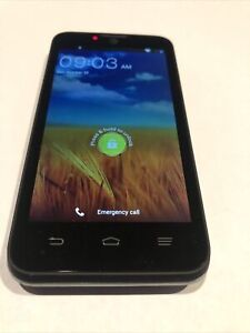 ZTE Unico Z998 AT&T (GSM Unlocked) Android 4G LTE Dual-Core Smartphone Black