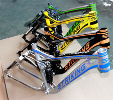 soft tail downhill suspension 6061 aluminum alloy 26 inch ,27.5er frame DH frame