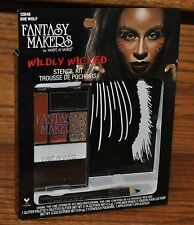 Wet N Wild Wildly Wicked She Wolf Stencil Kit Halloween Costume Party NEW