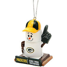 Green Bay Packers S'mores Christmas Holiday Tree Ornament NFL Football
