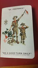 VINTAGE 1931 BOY SCOUTS OF AMERICA  MEMBERSHIP CARD BOOKLET DO A GOOD TURN DAILY
