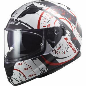 LS2 FF320 Stream Evo Tacho DVS Motorcycle Helmet Motorbike Crash Lids