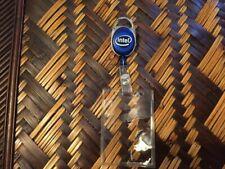 INTEL LOGO Retractable Reel Pull Key ID Card Badge Clip Holder Carabiner Style
