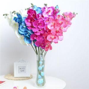1PCS Orchid Artificial Flowers DIY Decorations Wedding Party Bouquet Fake Cloth