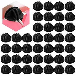 SSPECOTNR 40 Pcs Wire Cube Plastic Connector Interlocking Connector Wire Grid