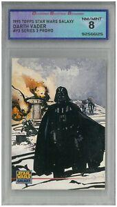 1995 Topps Star Wars Galaxy DARTH VADER #P3 Series 3 Promo 💎 DSG 8 NM/MINT