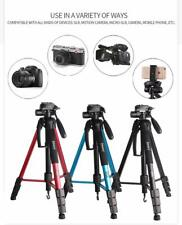 Professional Photography Equipment Tripod for DSLR Canon Nikon Sony LG Blue