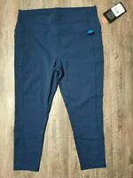 Skechers Womens Go Walk Flex Active High Waisted Tight Legging capri size XL new