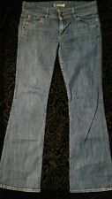 HUDSON Jeans Sz30 dark denim color, boot cut silhouette 34inch waist