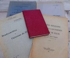 Lot de cinq livres médecine anciens @