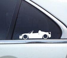 2x tuning car stickers aufkleber - for Opel Speedster | vauxhall vx220