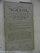 SCIENTIA 1949 Definizione generale dell equilibrio Biologia moderna Sociologia