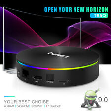 SMART TV Box Android 9.0 64G 4K H.265 Lettore multimediale HD 3D WIFI Set Top Box