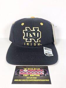 Vintage Notre Dame Fighting Irish NCAA Top Of The World Wool Hat Cap 6 3/4 BNWT!