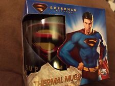 SECRET SANTA DC SUPERMAN RETURNS THERMAL X RAY CLASSIC MUG NEW  MAN STEEL