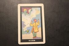 Vintage Alladin Old Maid Playing Card