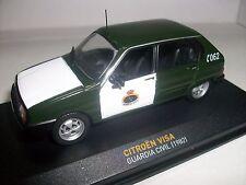 CITROEN VISA Guardia Civil 1982 IXO 1/43