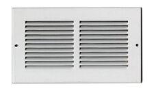 Bocchetta ventilazione lamiera verniciata griglia aria colore bianco mm. 240x140