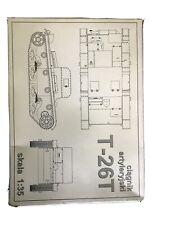 RPM Skala 1:35 Ciagnik Artyleryski T-26T Tank Kit.