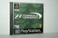 FORMULA ONE 2001 GIOCO USATO BUONO SONY PSONE VERSIONE ITALIANA PAL GD1 41937