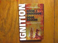 "KEVIN J. ANDERSON/DOUG BEASON  Signed Book (""IGNITION""-1997 1st Edition Hardback"