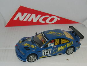 Ninco BMW M3 Mertens #121 Only IN Sets Mint Unboxed