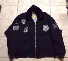 "Schott Military M1 Flight Jacket, ""Wings Of gold Edition"" Wool, Schott Coat"