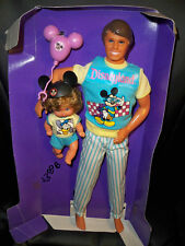 Mattel The Heart Family Visit Disneyland Dad And Baby attached to  liner, NO BOX