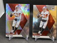 2020 Panini Mosaic Football Tom Brady Silver Prizm🔥🐐BONUS Base Card