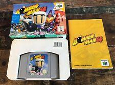 Bomberman 64 Nintendo 64 N64 - Boxed AUS PAL with Manuel