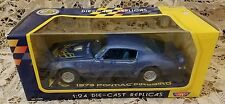 1973 Pontiac Firebird 1/24 Die-Cast Replica Collector's Edition from Motor Max