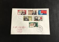 Germany 1983 Cover - Karl Marx - Saalfeld
