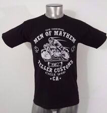 TeeFury men of mayhem Teller customs by CoD Designs men's t-shirt black S new