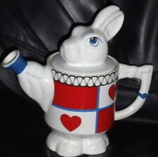 Wade Alice in Wonderland White rabbit teapot