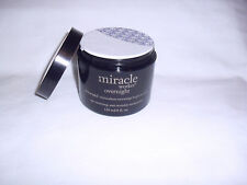 PHILOSOPHY MIRACLE WORKER OVERNIGHT AGE RESETTING 4 OZ  NWOB SEALED PULLED EDGE