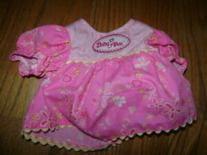 """Hasbro Baby Alive Baby Doll 16"""" 2006 PINK Dress Shirt REPLACEMENT VERY CUTE RARE"""